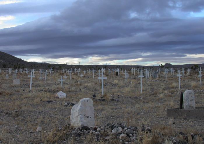 8. Goldfield Cemetery