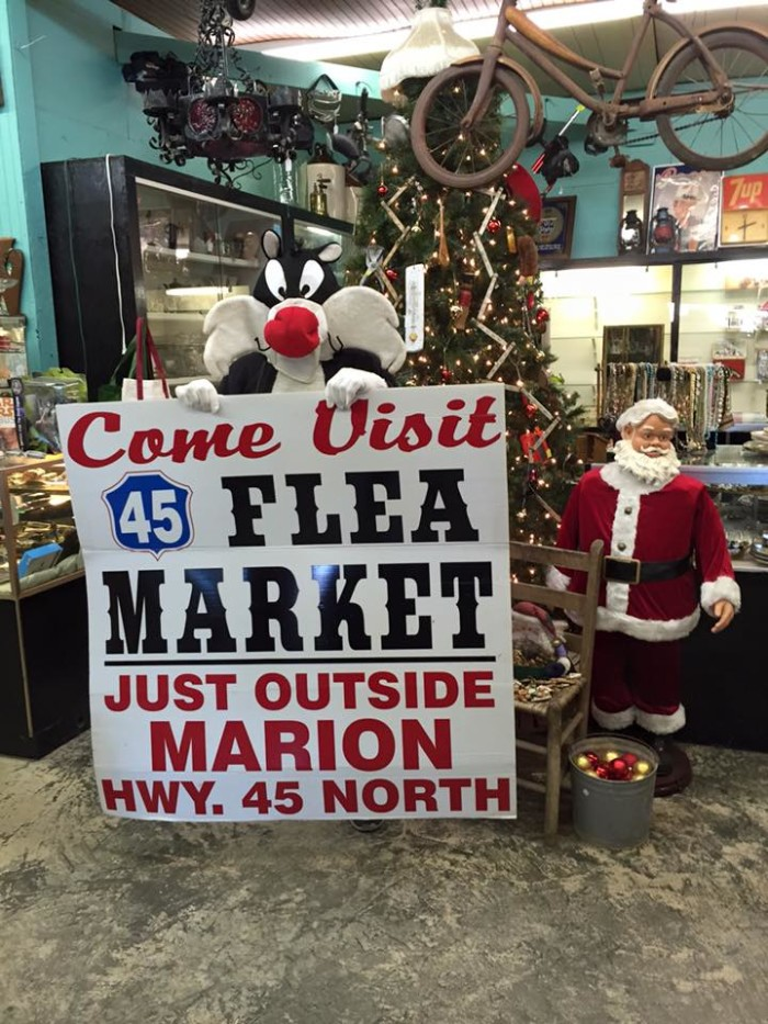 3. 45 Flea Market and Antiques, (near) Marion