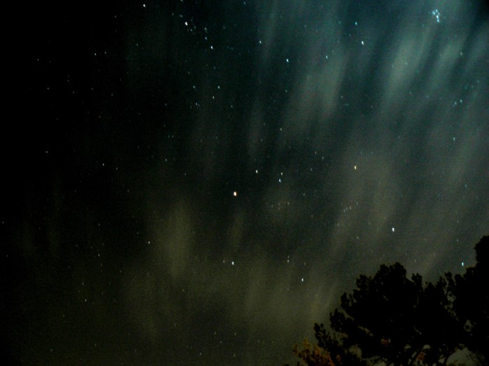 4. After everyone else goes to sleep, go stargazing.