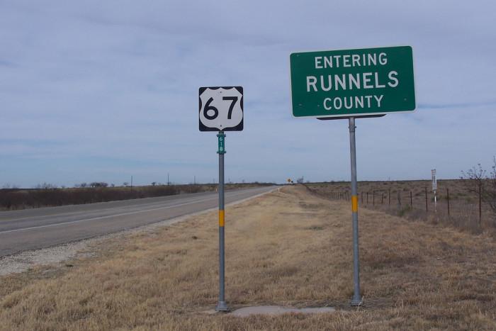 10. Runnels County