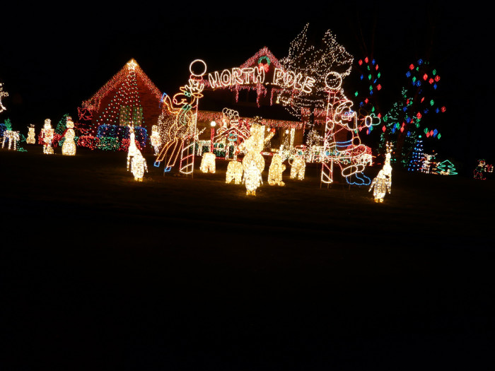 9. Who knew the North Pole was in Indiana?