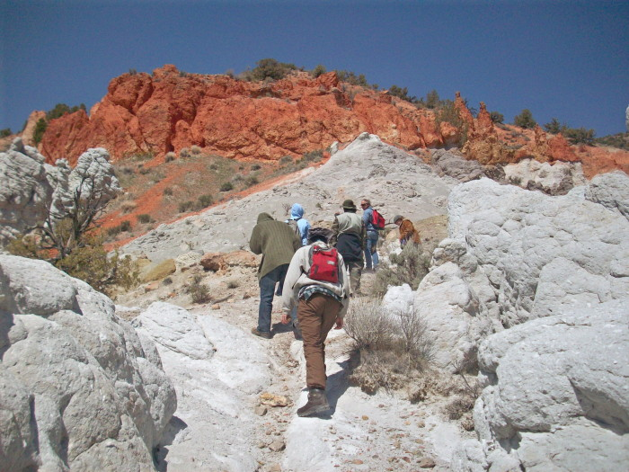 8. Go hiking in the Red Rock Canyon National Conservation Area.