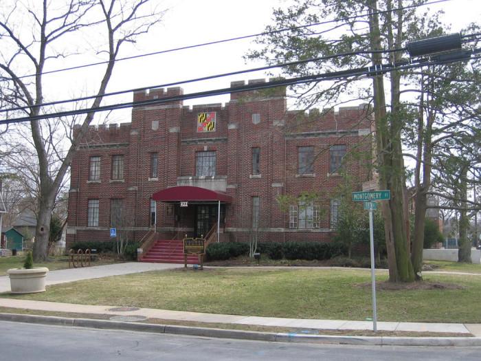 11) Laurel Armory, Laurel