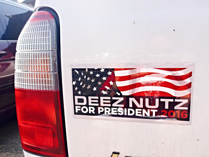 """3. A 15-year-old boy from Iowa ran for president under the pseudonym """"Deez Nutz."""""""