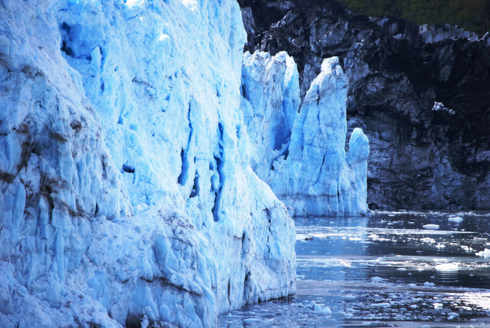 6) Our glaciers are larger than life.