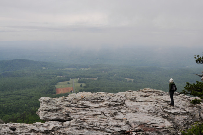 8. Hanging Rock State Park