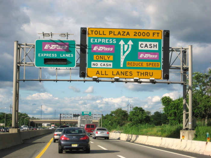 1. Use E-ZPass to save time and money at the toll booth.