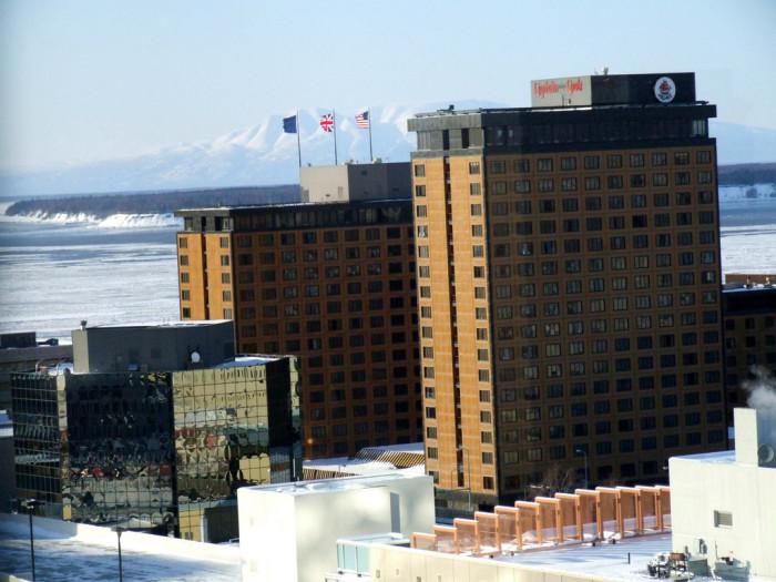 2) Hotel Captain Cook, Anchorage