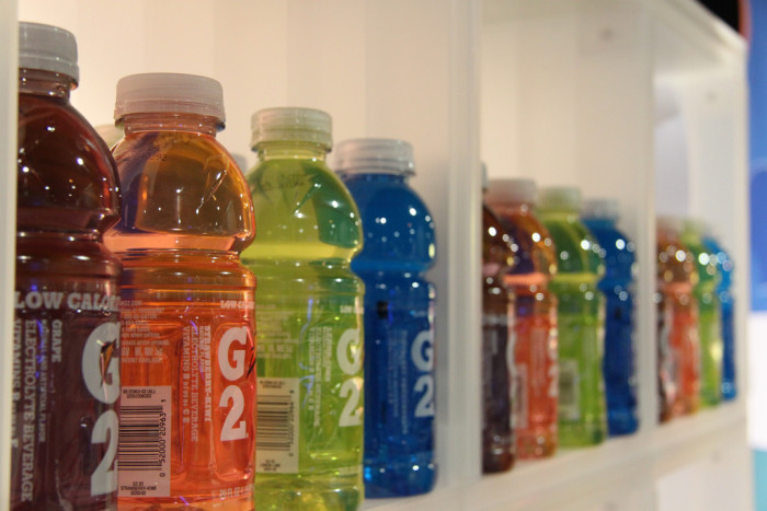15. And what would all of our country's biggest athletes drinks without this magical elixir?