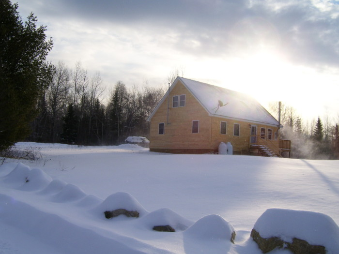 12. No reason to venture outside when you've got this cozy, sundrenched house to call home.