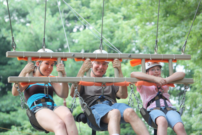 14) Have a blast at Terrapin Adventures.