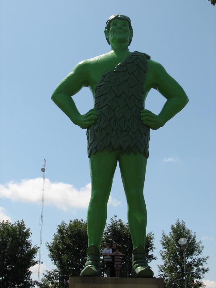 6. Blue Earth - Jolly Green Giant.