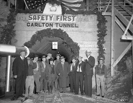 2. Carlton Tunnel Christmas Party (taken sometime between 1940-1950).