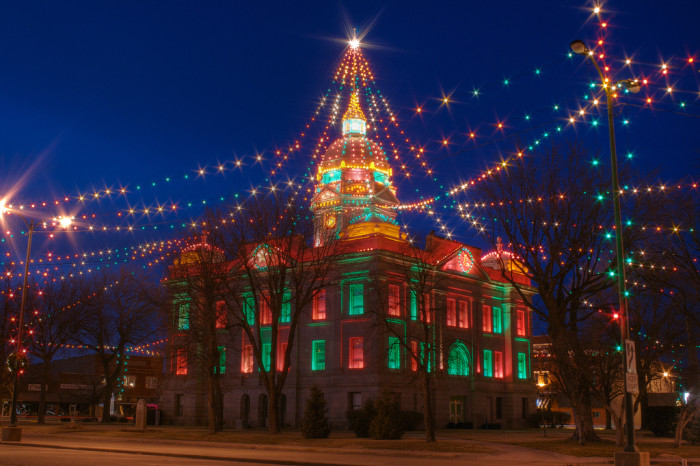 6. We've even had a whole Christmas City setting the seasonal stage for an entire century.
