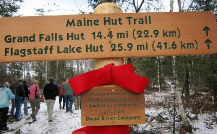 12. Take advantage of Maine Huts and Trails and enjoy the outdoors and some genuine hospitality.