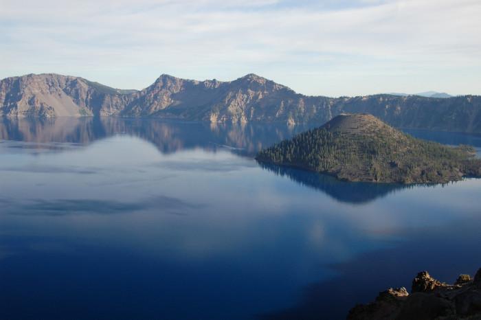 13. Take a drive around Crater Lake.
