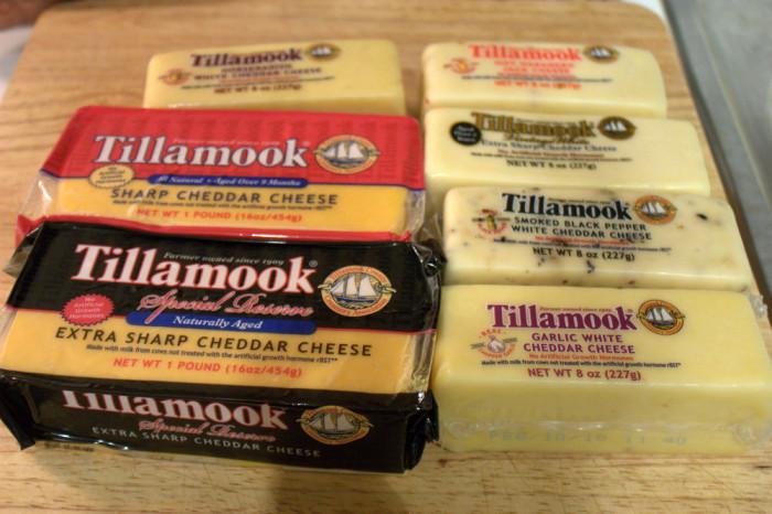 6. Eaten Tillamook cheese.