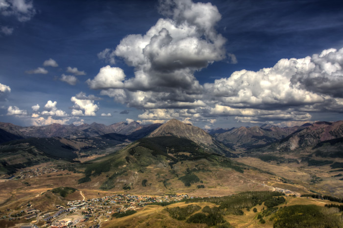 4. Taking in Colorado's natural beauty without taking out your cell phone.