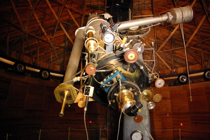 2. 1930: Astronomer Clyde Tombaugh discovers Pluto (which received its name a few months later) at Flagstaff's Lowell Observatory.