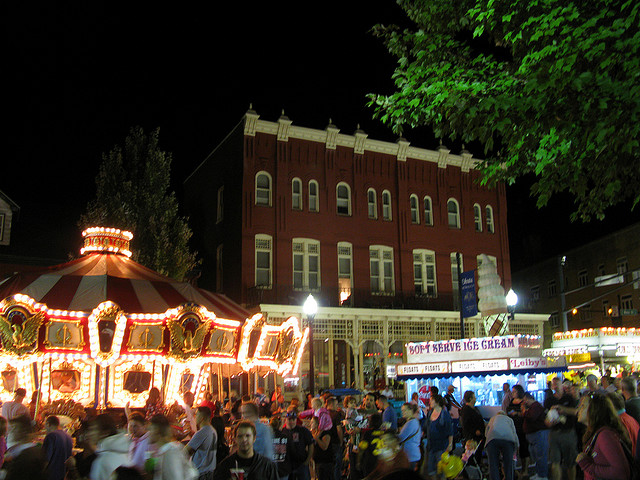 8. Go to the largest street fair in the state.