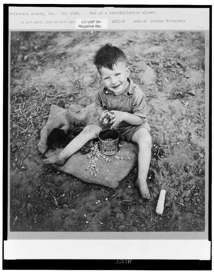 "17. ""Son of rehabilitation client. Jefferson County, Kansas."" (1937)"