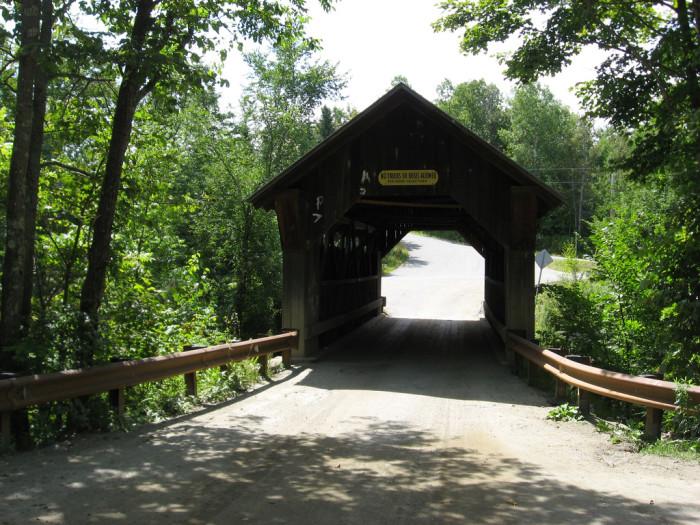 4.  Emily's Bridge, Stowe.