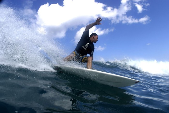 4) Learn to surf.