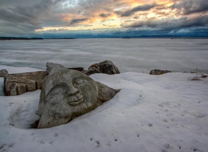 4.Lake Champlain.