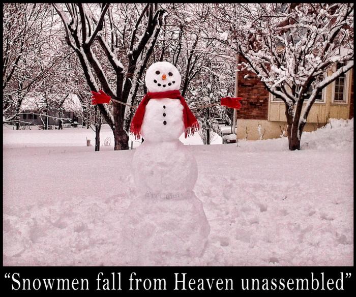 4.Snowman
