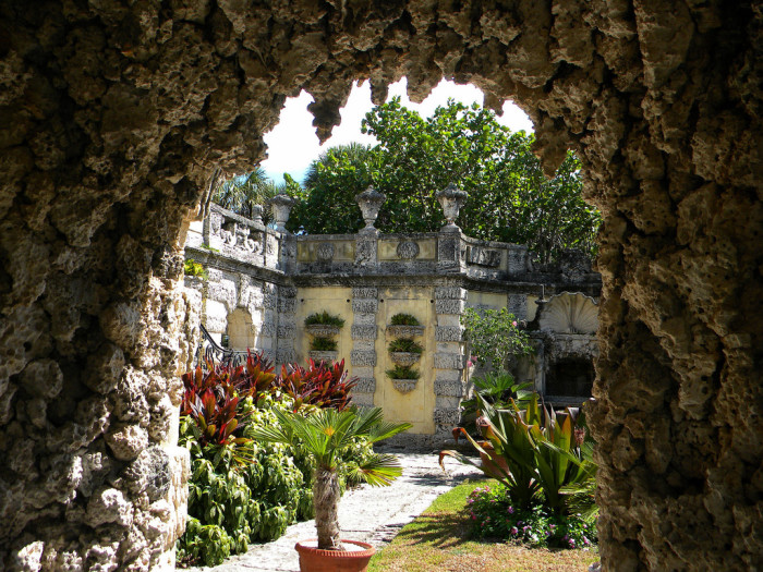 12. Vizcaya and its gardens on Biscayne Bay are clearly hiding some magical secrets.