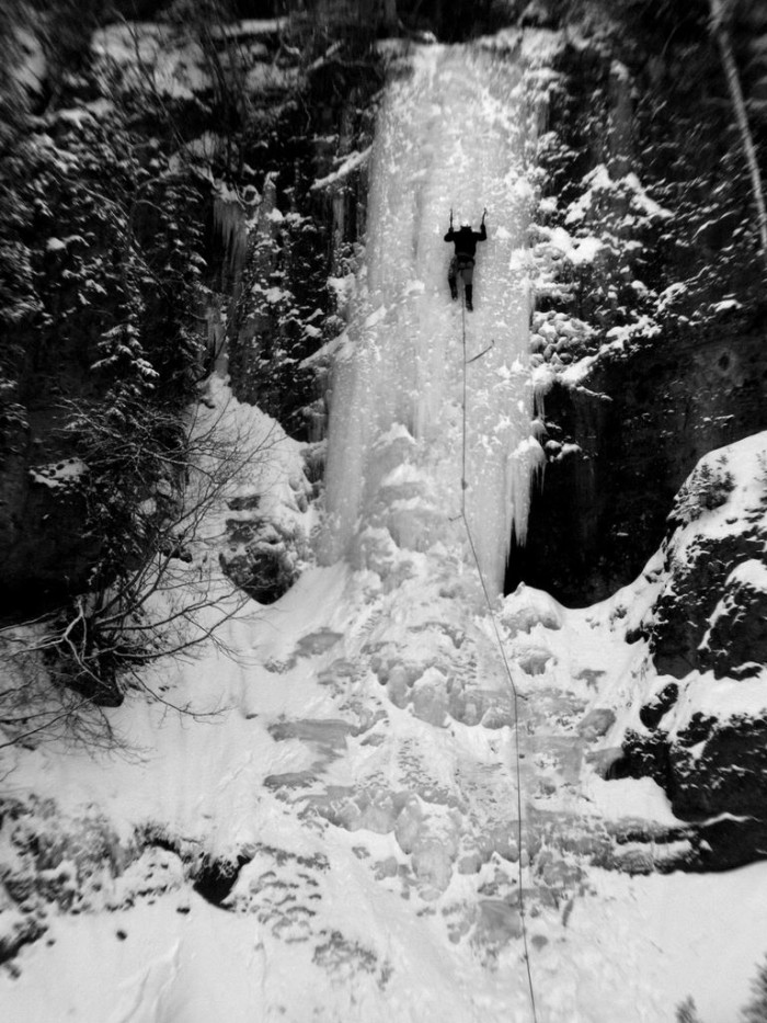 4. Why chase waterfalls when you can climb them?