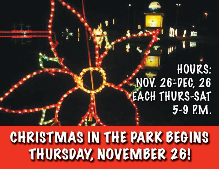 4. Christmas in the Park, Collins