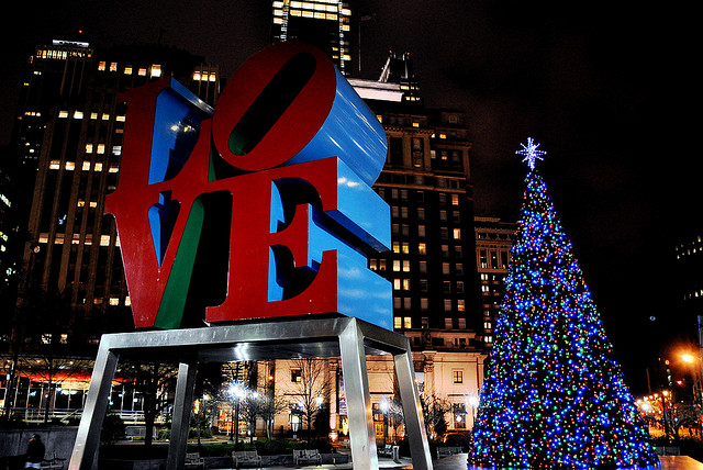 6. Or into Philly, to admire their seasonal decorations.