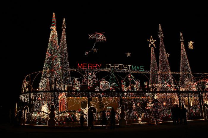 5) The Santa House, North Pole
