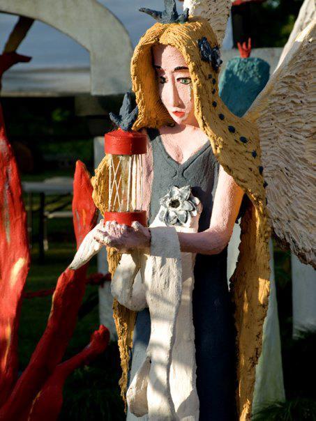 4. Chauvin Sculpture Garden, outside of Thibodaux, LA