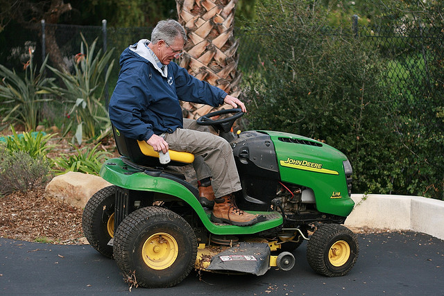 2. A man stole a lawnmover  by simply driving it out of Wal-Mart.
