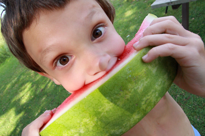 4. You believe that eating watermelon and catching lightnin' bugs should be a part of everyone's childhood.