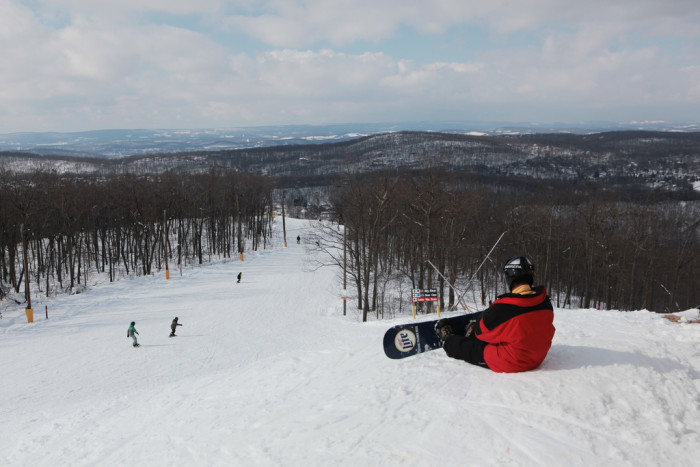 2. No matter what the weather, we have access to skiing and tubing.