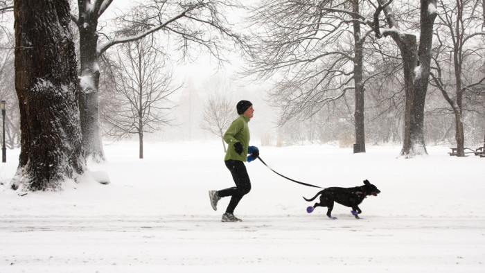 9. This year, I'm going to be one of those people who runs no matter how cold and snowy it is. Because I'm committed to year-round fitness.