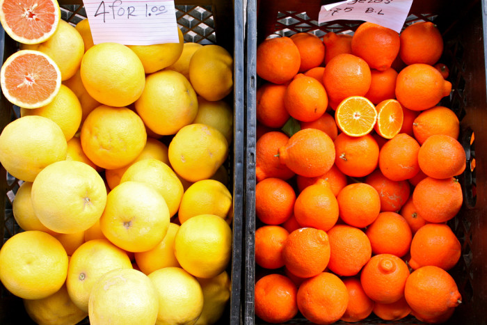 9. Incredibly fresh, Arizona grown citrus this time of year is amazing.