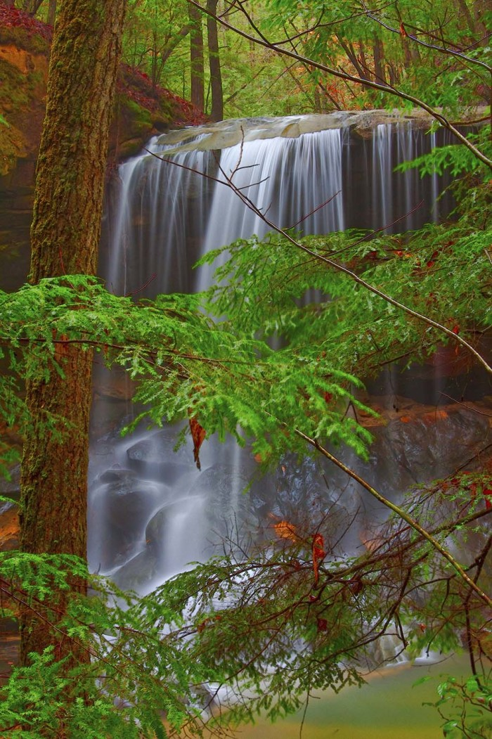 9. Turkey Falls (Bankhead National Forest) - Double Springs, Alabama
