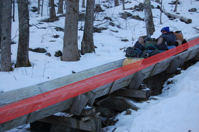 6. The 26th annual U.S. National Toboggan Championships at Camden Snow Bowl, February 5th to 7th.