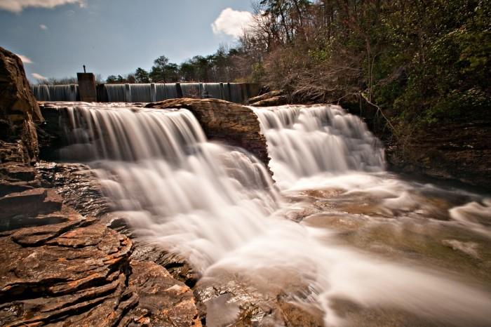 13. DeSoto Falls (DeSoto State Park) - Mentone, Alabama