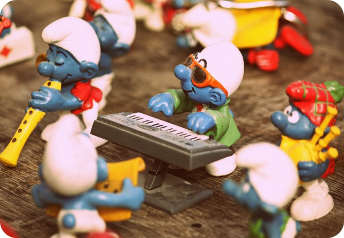 and Smurfs.