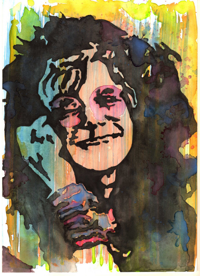 """9) In 1963, Janis Joplin was voted """"Ugliest Man on Campus"""" at the University of Texas."""