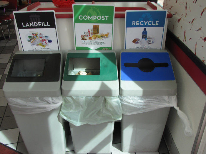 4. Composted and/or recycled.
