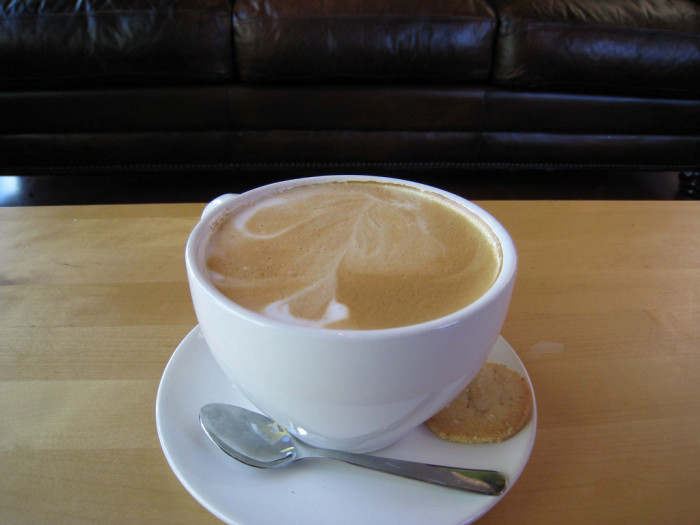 8. Enjoy a cup of coffee or tea