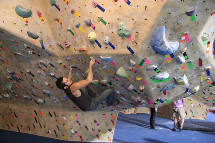 2) Go climb something!