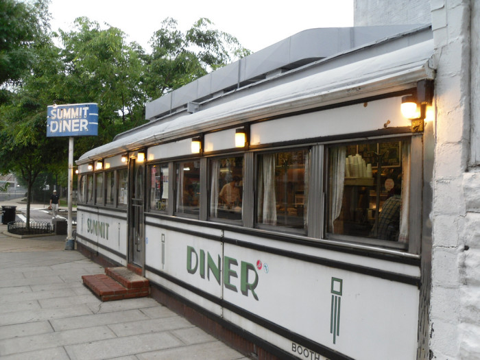 4. What time does the diner close?