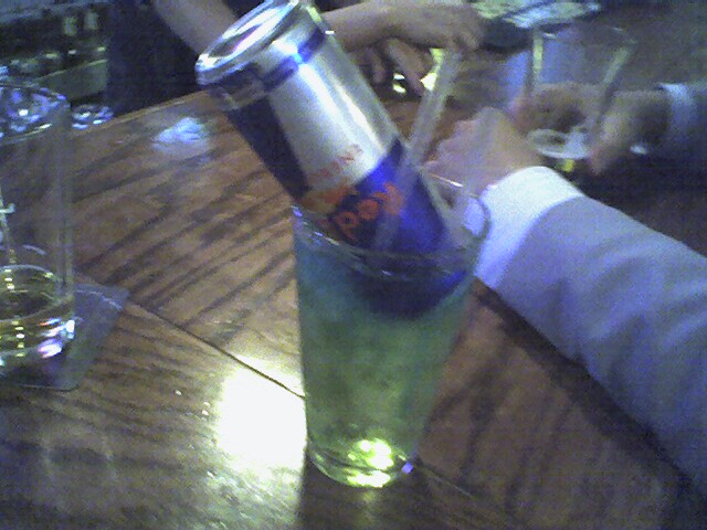 20) They're drinking an Irish Trash Can.